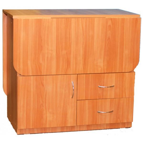 Стол-тумба раскладной с ящиками