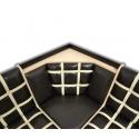 Угловая скамья «Комфорт-Аленка» 17 (Венге светлый)