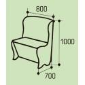 "Мягкое кухонное кресло ""Гранд"""
